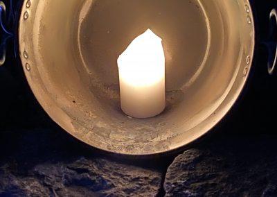 Sylbach Kirche Zeichen der Hoffnung Corona 38 hoch