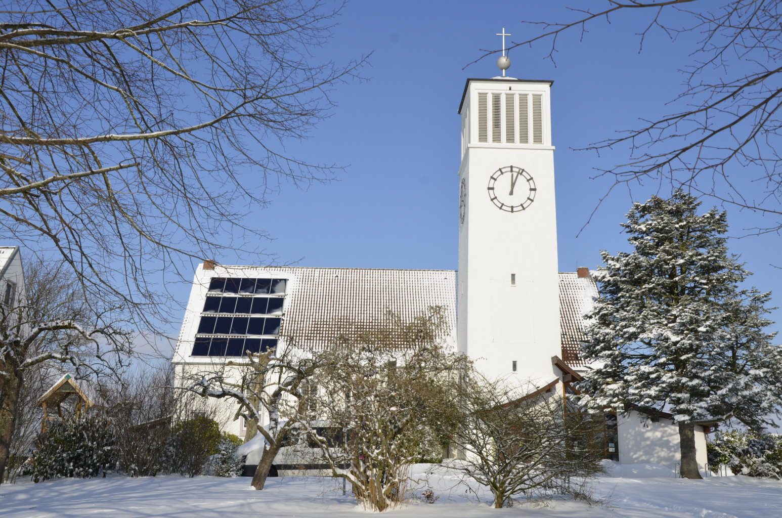 Kirche Sylbach Winter Axel Schwarze 12