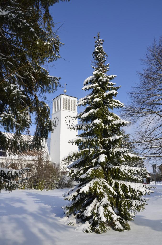 Kirche Sylbach Winter Axel Schwarze 2
