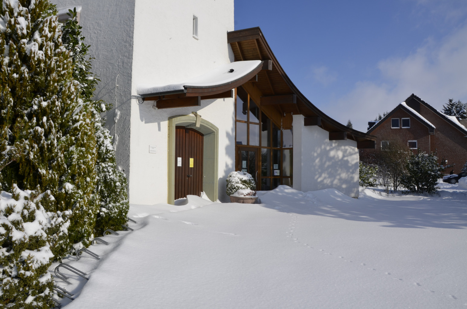 Kirche Sylbach Winter Axel Schwarze 7