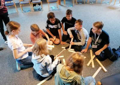 Kirche Sylbach Konfi Wochenden 2021 -Kooperationsspiele