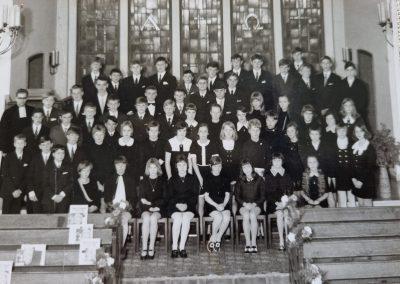 Kirche Sylbach Konfirmation 1970